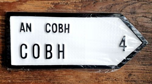 Irish Road Sign - Cobh